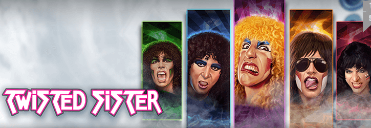twisted sister slot playngo