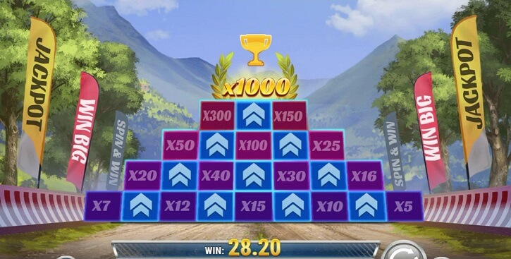 rally 4 riches slot bonus