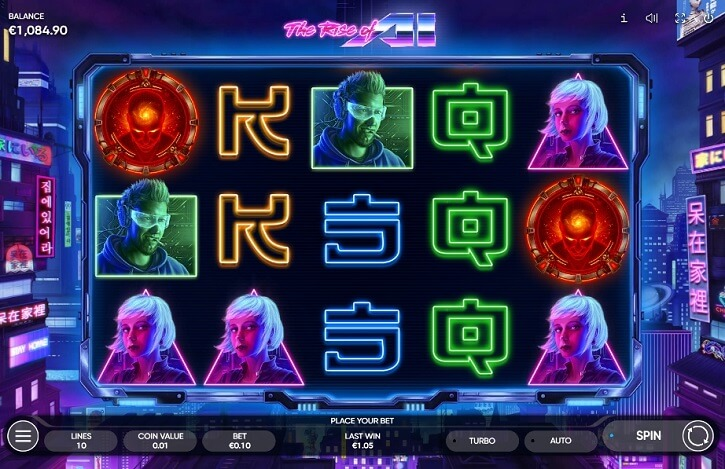 the rise of al slot screen