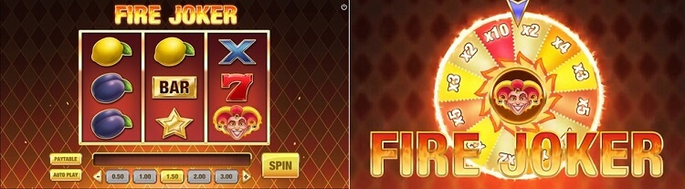 fire joker slot preview