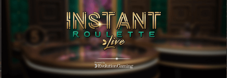 instant roulette live evolution gaming