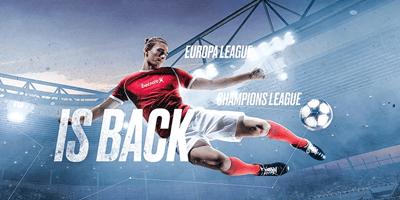betsafe spordiennustus champions league is back