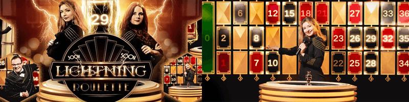 lightning roulette game screens