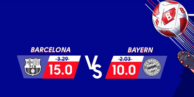 olybet spordiennustus boosted odds barcelona bayern