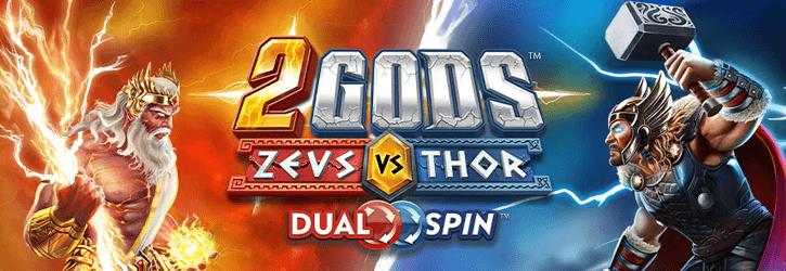 2 gods zeus vs thor slot yggdrasil