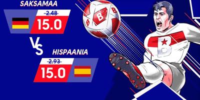 olybet spordiennustus saksamaa vs hispaania