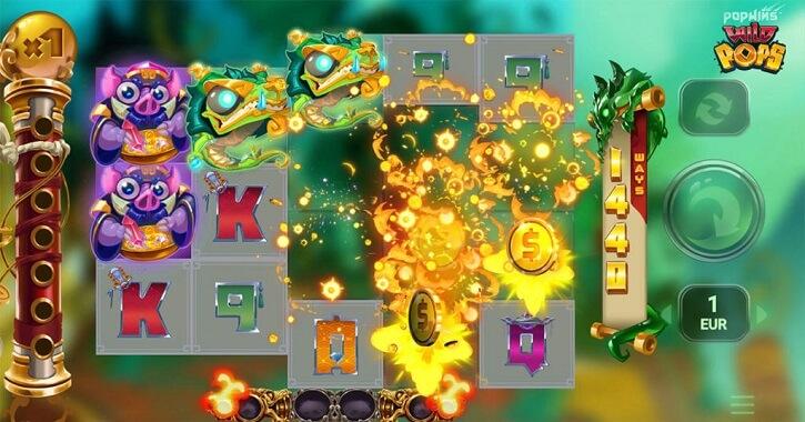 wildpops slot screen