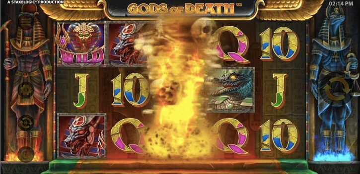 gods of death slot bonus
