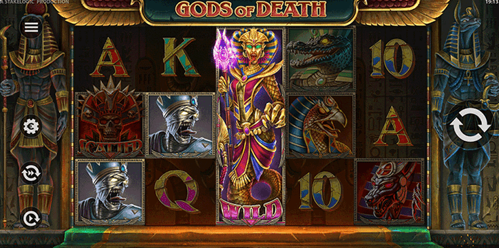 gods of death slot screen