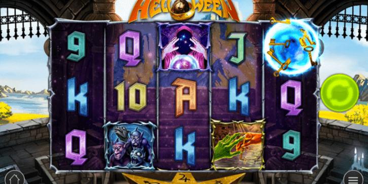 helloween slot screen