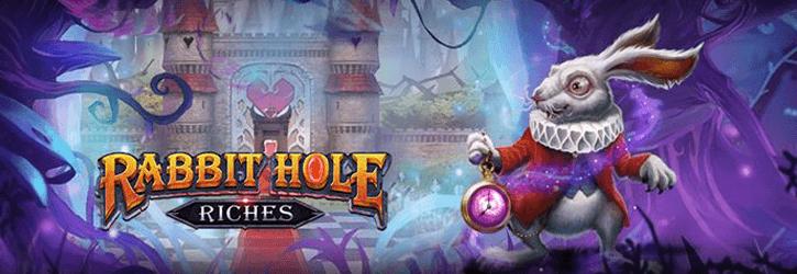 rabbit hole riches slot playngo