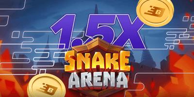 boost kasiino snake arena