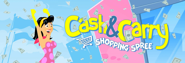 cash and carry shopping spree slot paf