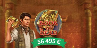 paf kasiino book of dead winner