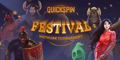 ninja kasiino quickspin festival