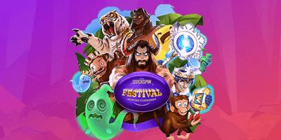 supercasino quickspin festival