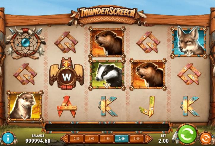 thunder screech slot screen