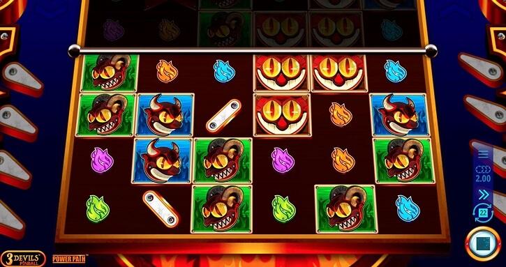 3 devils pinball slot screen