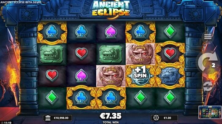 ancient eclipse slot screen