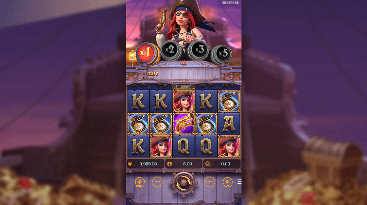 queen of bounty slot screen
