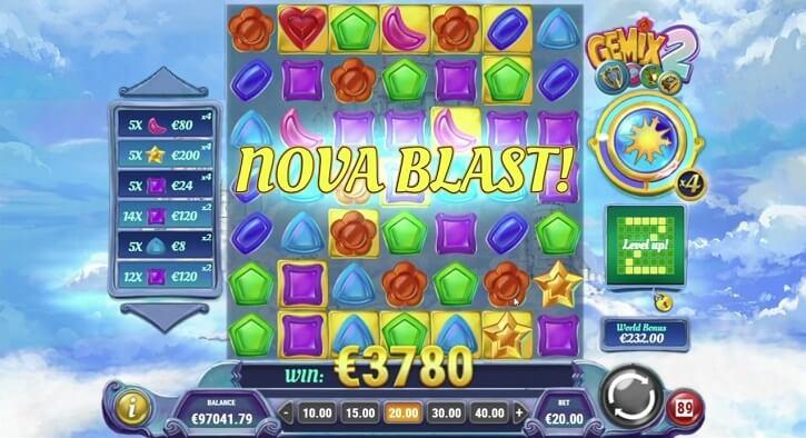 gemix 2 slot screen big win
