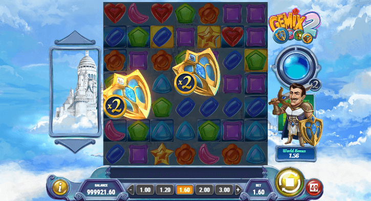 gemix 2 slot screen bonus