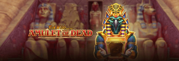 rich wilde and the amulet of dead slot playngo