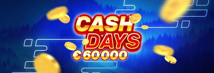 boost kasiino cash days kampaania