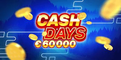 boost kasiino cash days