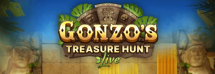 gonzos treasure hunt live evolution