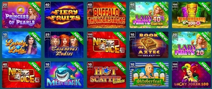 grandx kasiino populaarsed slotid