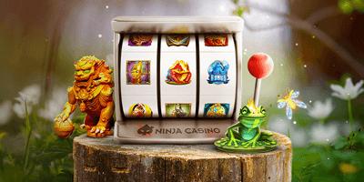 ninja kasiino kevadine valjakutse 2021