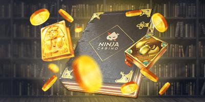 ninja kasiino legend raamat