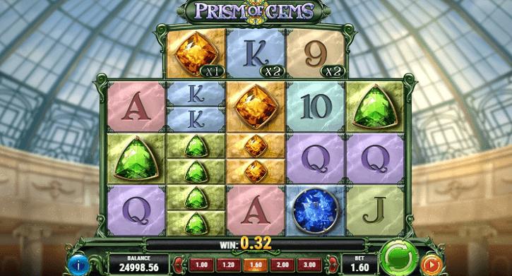 prism of gems slot screen