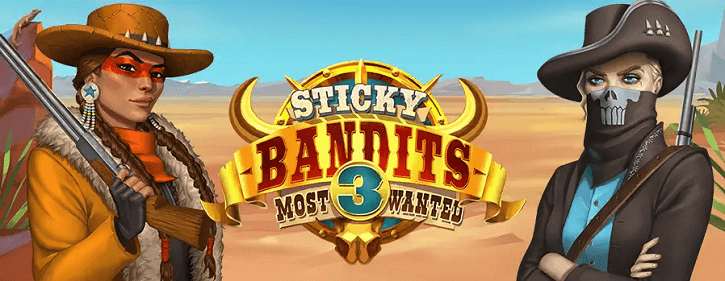 sticky bandits 3 most wanted slot quickspin