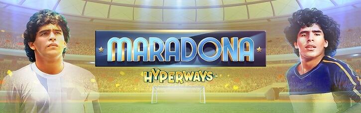 maradona hyperways slot gameart