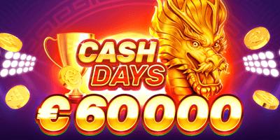 ninja kasiino cash days june
