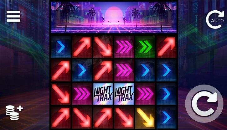 night trax slot screen