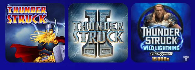 olybet kasiino thunderstruck triloogia slotid