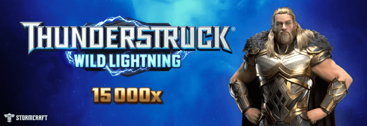 thunderstruck wild lightning slot stormcraft