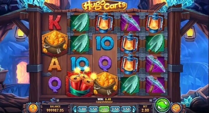 hugo carts slot screen