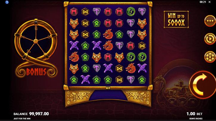 odins riches slot screen