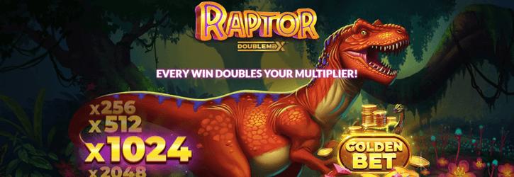 raptor doublemax slot yggdrasil