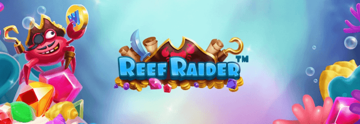 reef raider slot netent