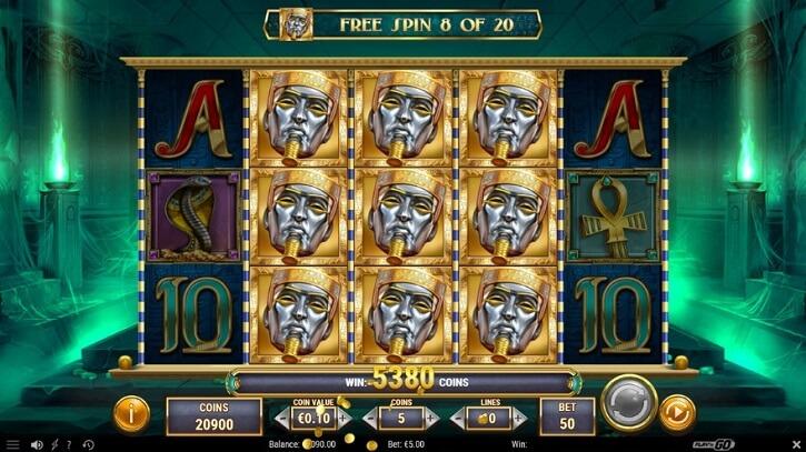 ghost of dead slot screen