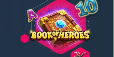 nutz kasiino book of heroes