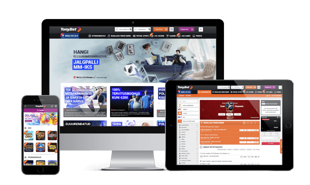 tonybet kasiino websites screens