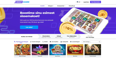 открытие boost casino