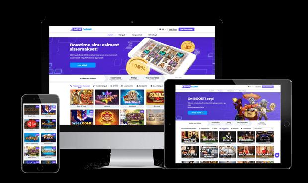 boost casino website review