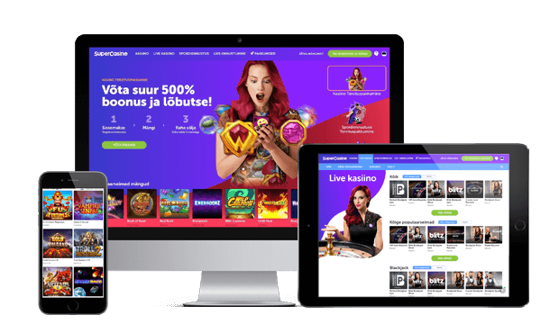 supercasino website mobile